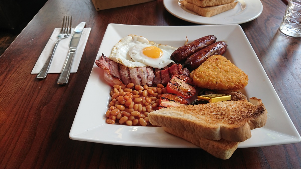 Value for money breakfast in Chichester West Sussex