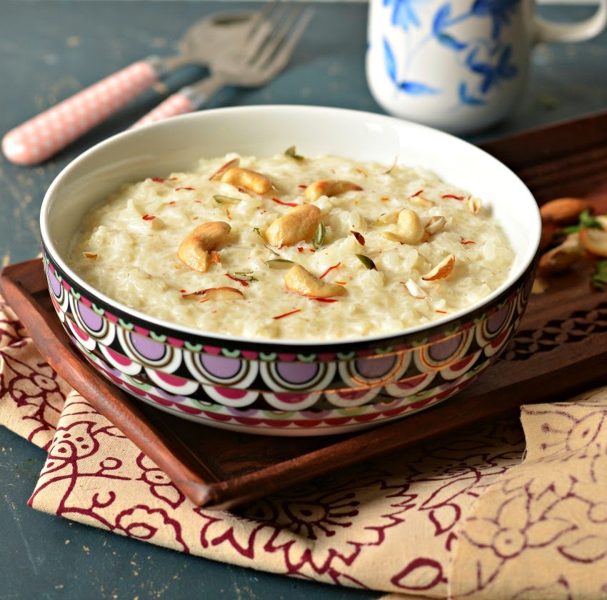 Kheer Indian rice pudding in the UK