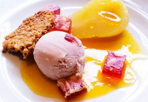 Best puddings in Lyme Regis Dorest on the South Coast