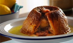 Traditional English puddings Sussex Pond Pudding