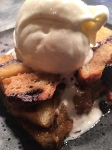 Bread and butter pudding in Kent